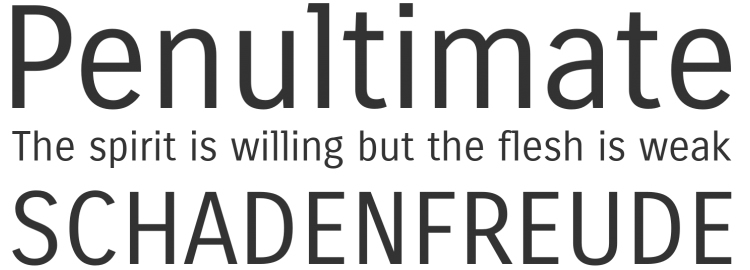 Carrois Gothic Web free typeface