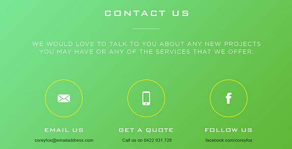 Website Design Other Than Flat
