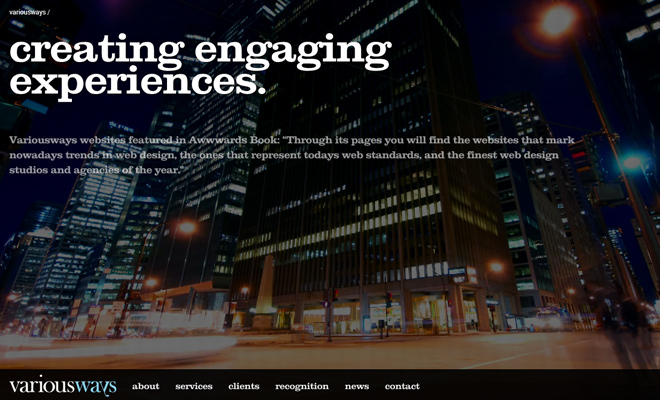various ways creating engaging experiences