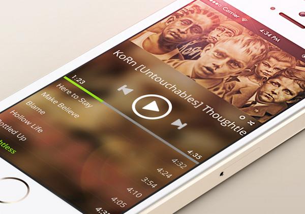 Spotify Redesign Concept by Elvira Arkanov