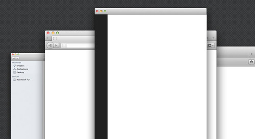 Transparent Window Templates