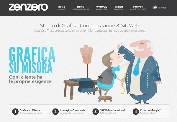 zenzero graphic artistic website