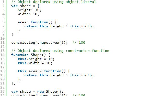 Javascript tutorial-objects.