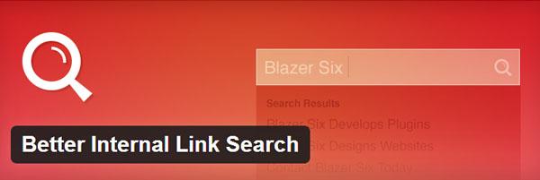 Better Internal Link Search WP Plugin