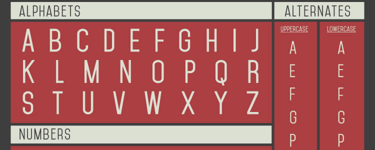 Mohave Typefaces free typeface