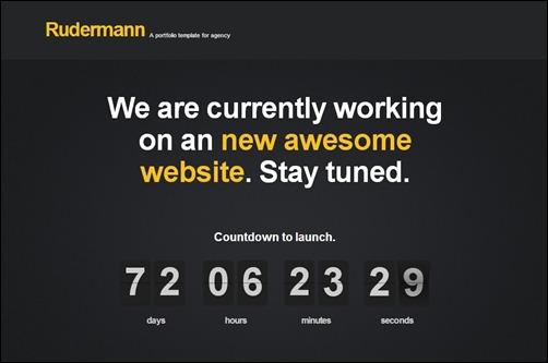 Rudermann page design
