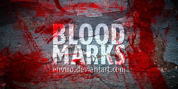 Blood Marks brushes