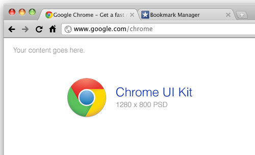 Chrome UI Kit