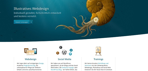 Kulturbanause Artistic websites
