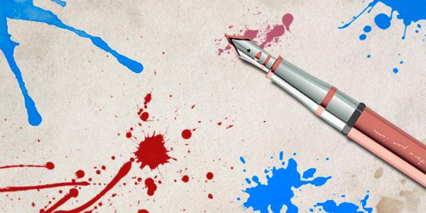 Paint Ink Splats Blots Splash Splatter Brushes