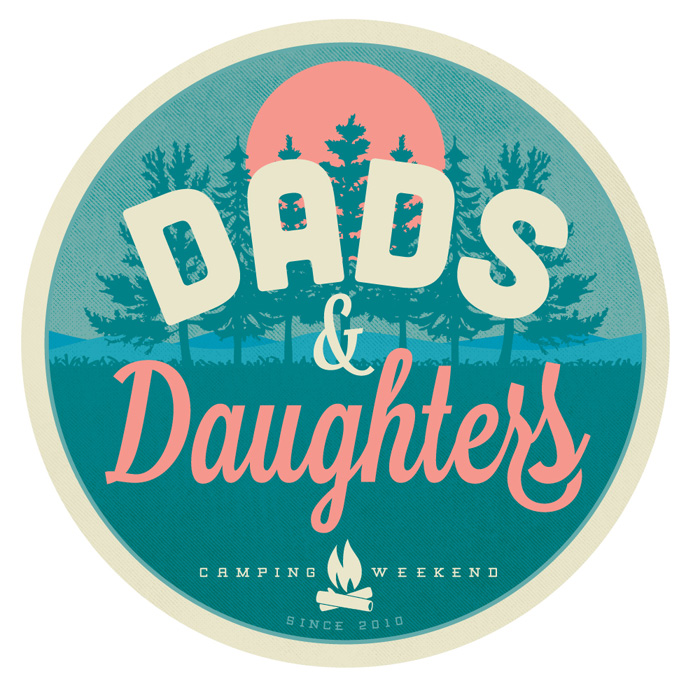 Dads & Daughters Logo Badge