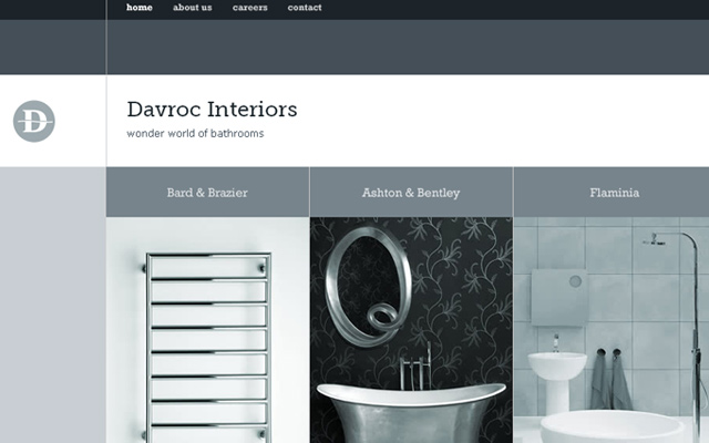 davroc interiors grey silver website inspiring layout