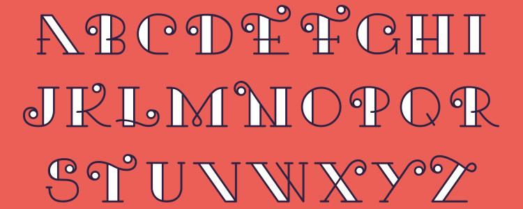Karifont designed by Javier Rivero free typeface