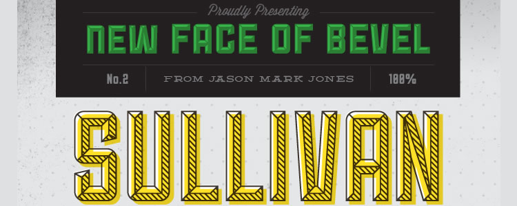 Sullivanfont designed by Jason Mark Jones free typeface