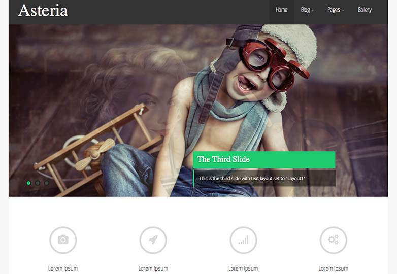 asteria free wordpress theme