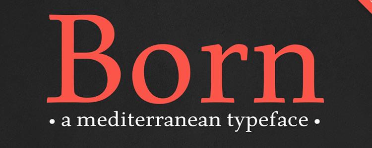 Born Free free typeface
