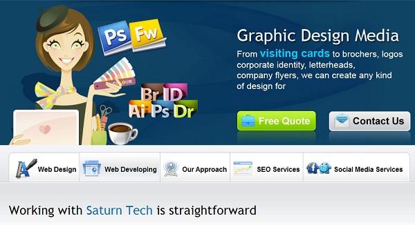 artistic website designs