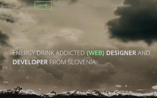 admir hadzic portfolio slovenia web design