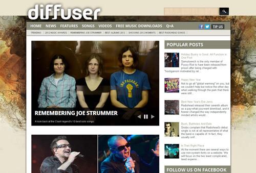 Diffuser Magazine Blogger