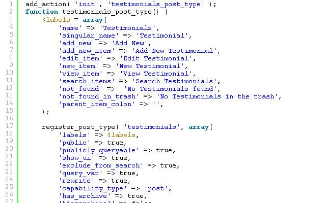 wordpress custom client testimonials cpt tutorial