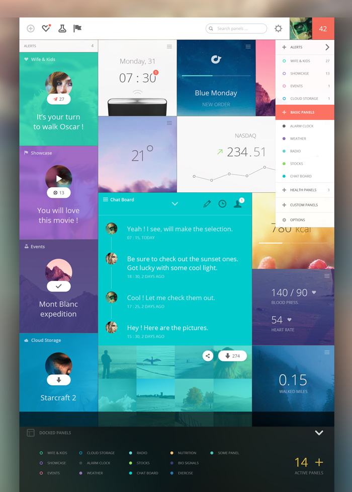 20 awesome dashboard designs that will inspire you   idevie