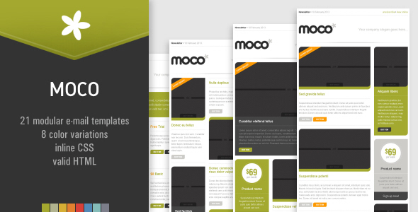 MOCO Effective Newsletter Template