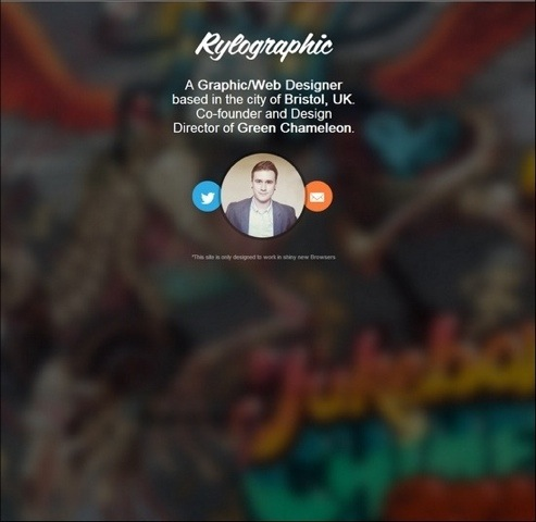 40+ Blurred Backgrounds in Web Design