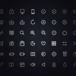 10 fantastic free thin line icon sets