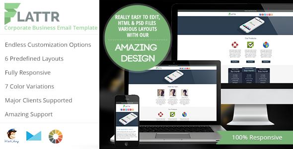 Flattr Effective Newsletter Template