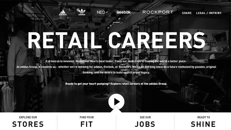 Adidas Retail Jobs