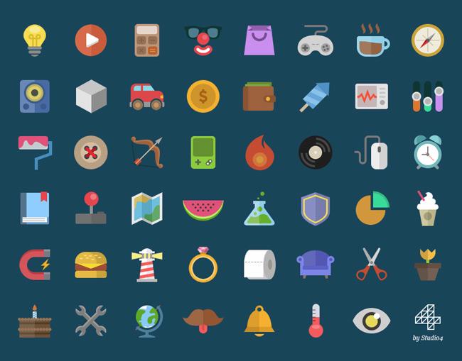 Free Flat Icons 2