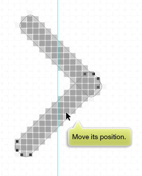move its position