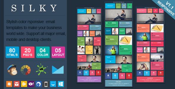 Silky Effective Premium Newsletter Templates