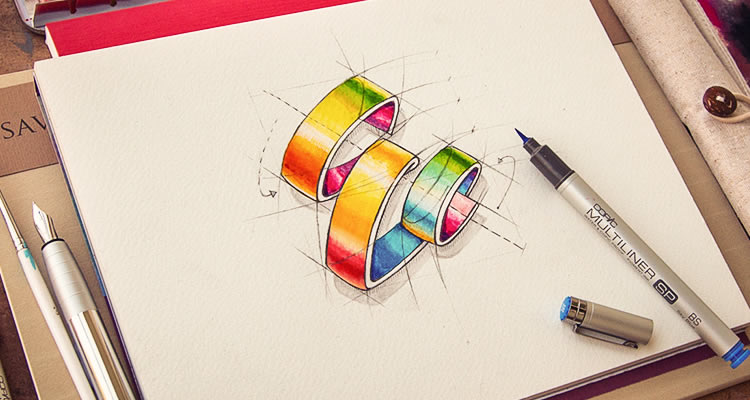 Logotypes Collection by Creative Mints logo sketching design process branding