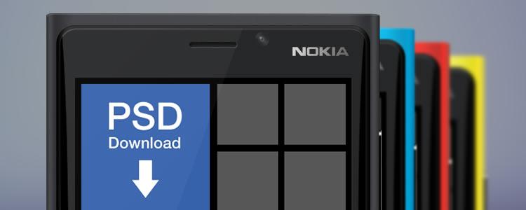 Nokia Lumia 920 Mockup