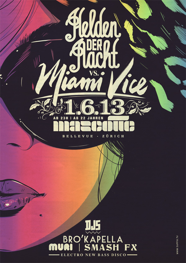 45 hdnmiamivice1web21 45 Creative Gig Poster Designs