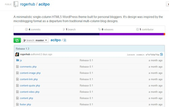 Actipo WP theme