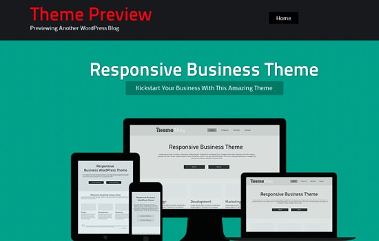 Bizsphere WP theme