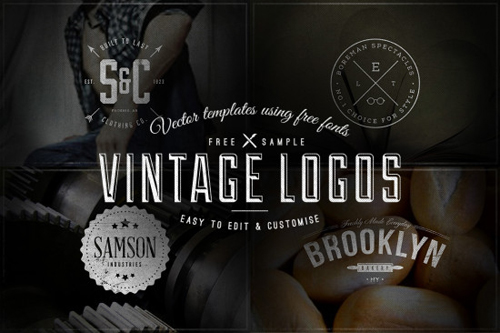 Vintage Logos / Badges – Vector Templates