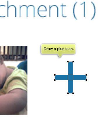 draw a plus icon