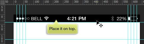 add status bar