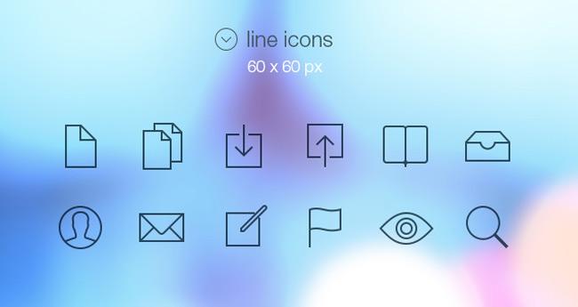 Tab Bar Icons iOS 7 | Media Icons