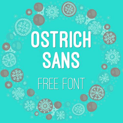 Ostrich Sans Fonts
