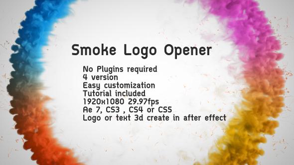 Smoke Logo Opener