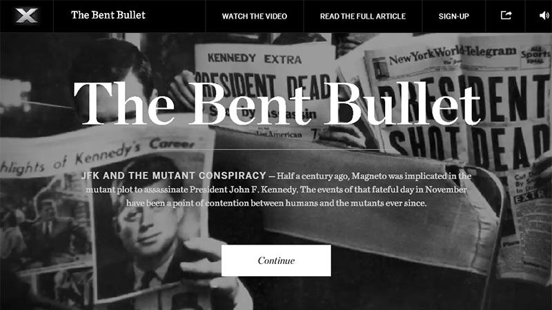 The Bent Bullet