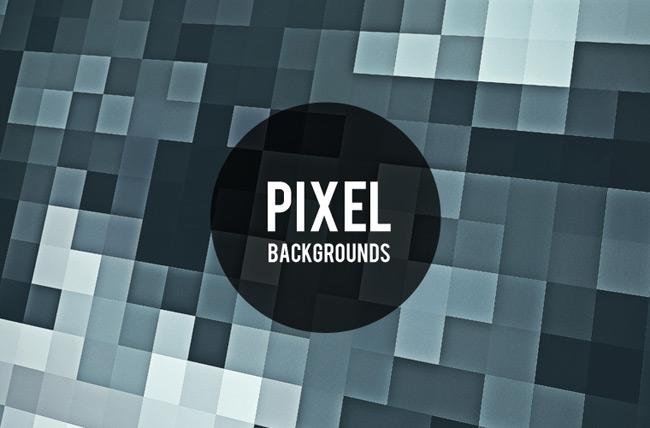5 Unique Pixel Backgrounds