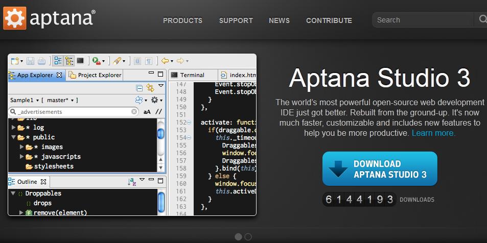open source alternative to dreamweaver