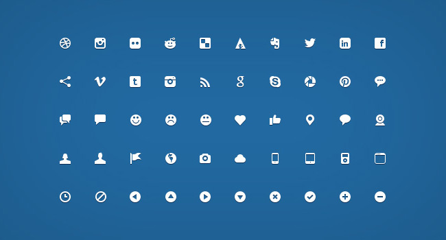 200 Handcrafted Micro Icons
