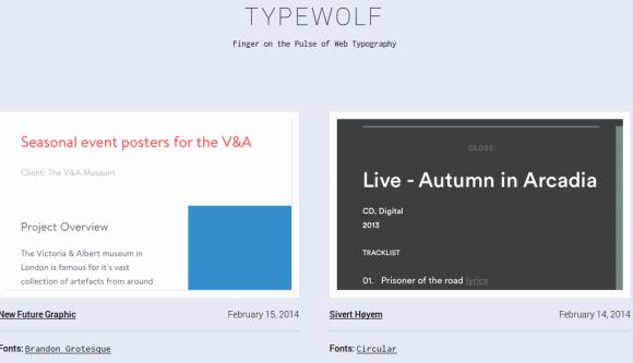 typewolf fonts typography tools