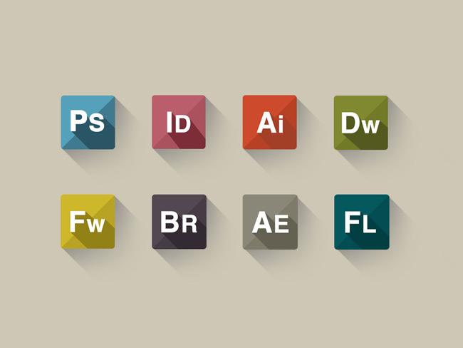 PSD Freebie : Adobe Icon sets